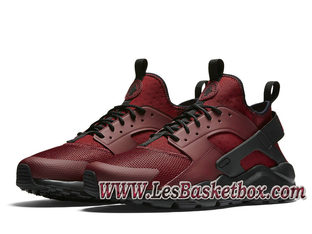 brand new 18247 d2861 ... Nike Air Huarache Ultra Red Black 819685 601 men´s Nike urh Shoes ...