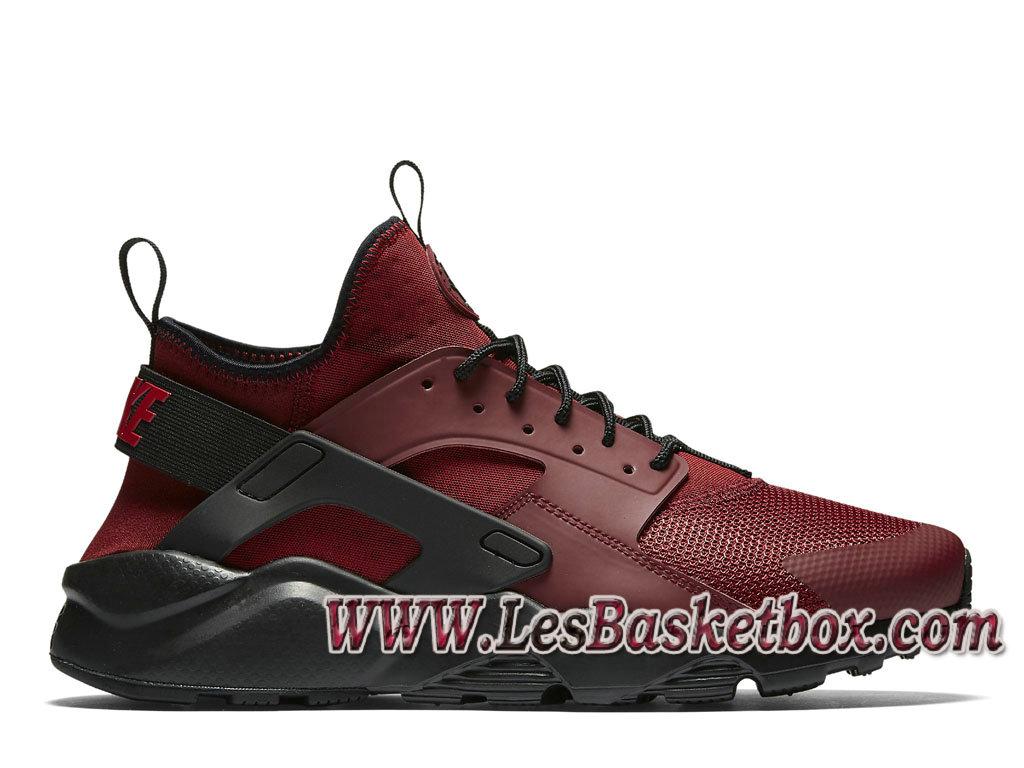 Nike Air Huarache Ultra Rouge/Noires 819685_601 Chaussures Officiel Urh  Pour Homme Rouge , 1612090498 , Officiel Nike Basket Pour Homme Et Femme A