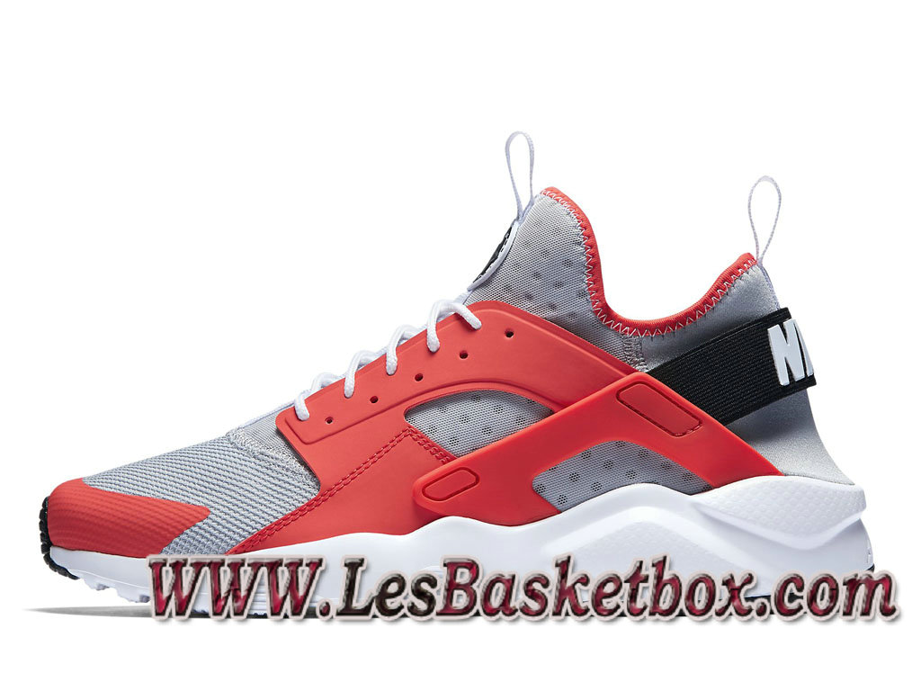 promo code f11f8 fb5fd Nike Air Huarache Ultra Wolf Grey 819685-800 Chaussures Officiel Urh Site Pour  Homme ...