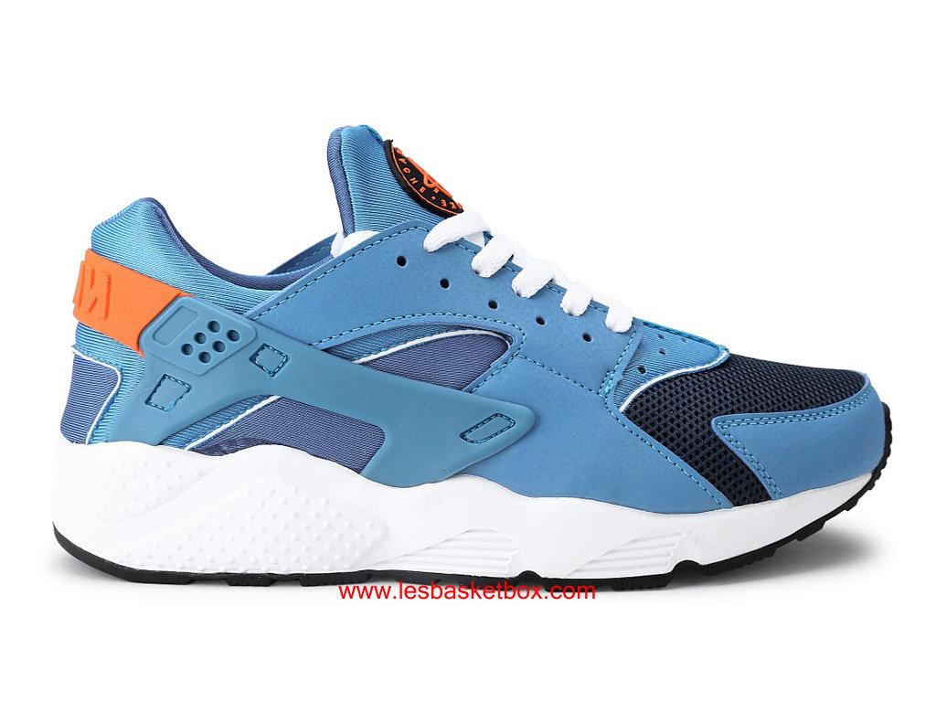 Nike Air Femme Huarache (Urh) Chaussures Pour Femme Air Gym Bleu Bright Mango 13e842