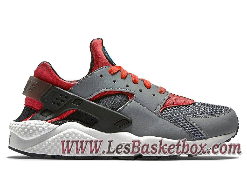 premium selection 37dda 38f42 Loading zoom. Nike Air Huarache (Urh Prix) cool grey 318429 009 Chaussures  Gris et Rouge Blanc Pour ...