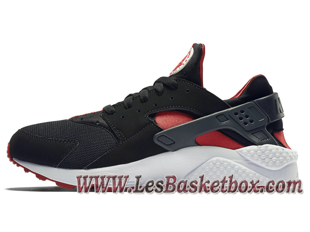 reputable site 12713 11829 ... Nike Air Huarache(Nike Urh) Bred 318429016 Chaussures Noir Et Rouge  Prix Pour Homme ...