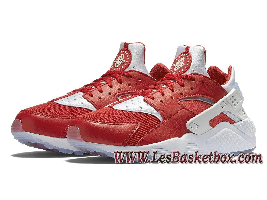 detailed look b0393 41aba ... Nike Air Huarache(Nike Urh) PRM Milan 704830-610 Chaussures Nike  SportWear Pour ...