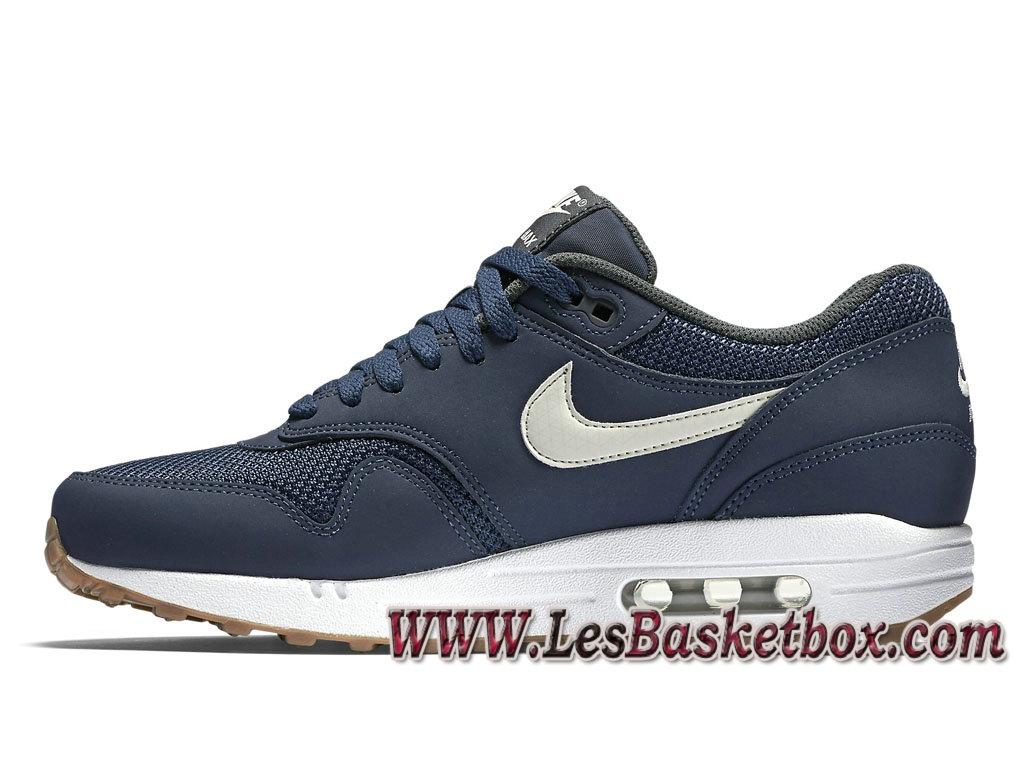 économiser e7fcc 35124 Nike Air Max 1 Essential Midnight Navy 537383_401 Chaussures Officiel Prix  Pour Homme Bleu - 1611150422 - Officiel Nike Basket Pour Homme Et Femme A  ...