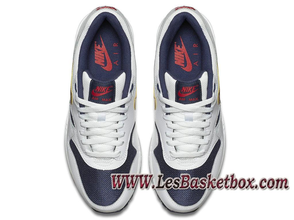 Nike Air Max 1 Essential Olympic 537383 127 Chaussures Officiel Prix Pour Homme Blanc 1611150421 Officiel Nike Basket Pour Homme Et Femme A Vendre