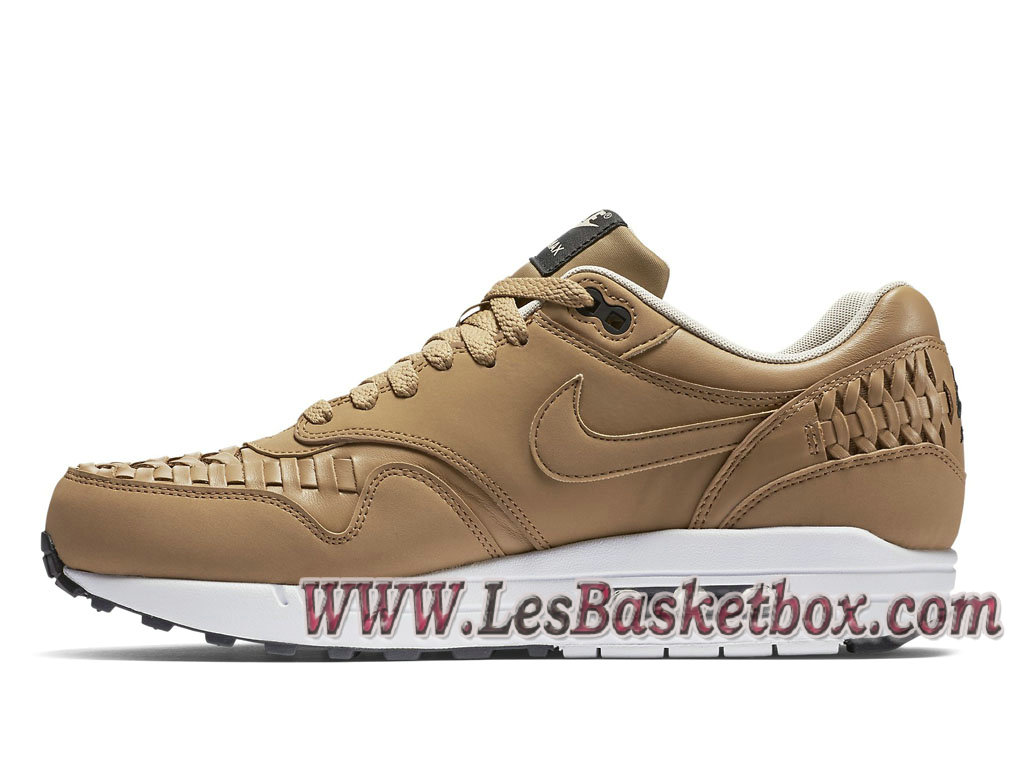 lowest price 695c9 47a70 ... Nike Air Max 1 Woven Pale Shale 725232-200 chaussure nike huarache Pour  Homme ...