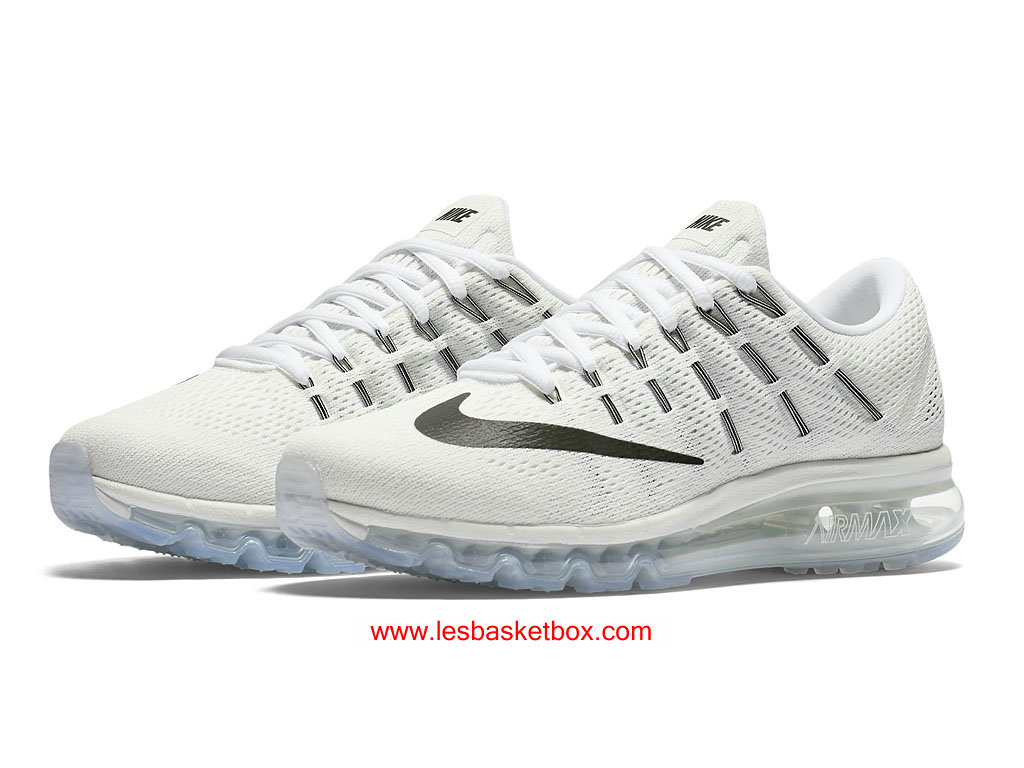 new product 3f1a2 7ede9 ... Nike Air Max 2016 White Black Shoes For Womens Cheap 806772-100 ...