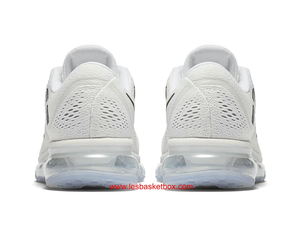 best authentic 275f6 84346 ... Nike Air Max 2016 Blanche Noir Chaussures Pour Femme Pas Chere  806772-100