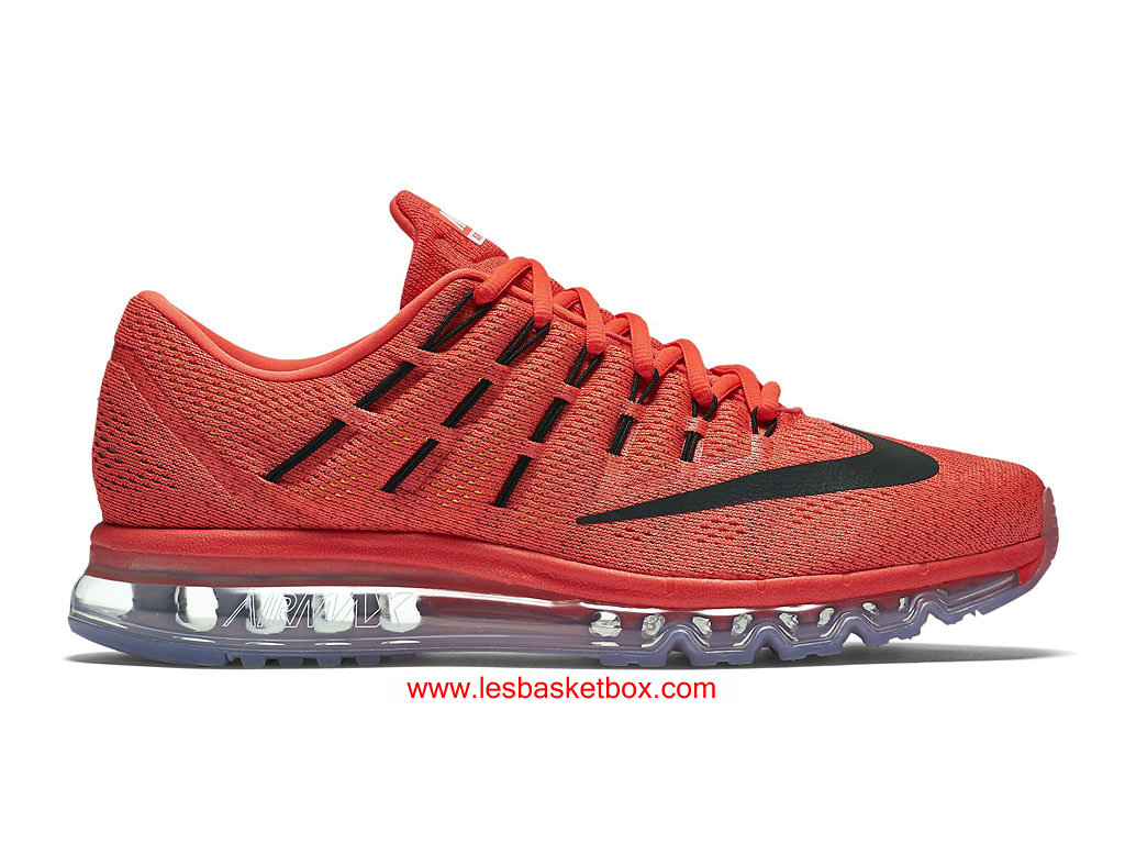 Nike Air Max 2016 Bright Crimson Shoes Sport Mens 806771-600