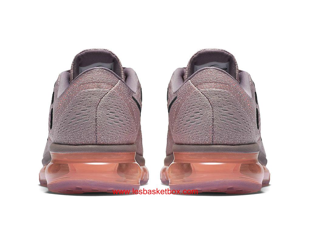 new arrival a5c22 72d3b ... Nike Air Max 2016 Fumée Violet Noir Hyper Orange Chaussures Pour Femme  806772-500