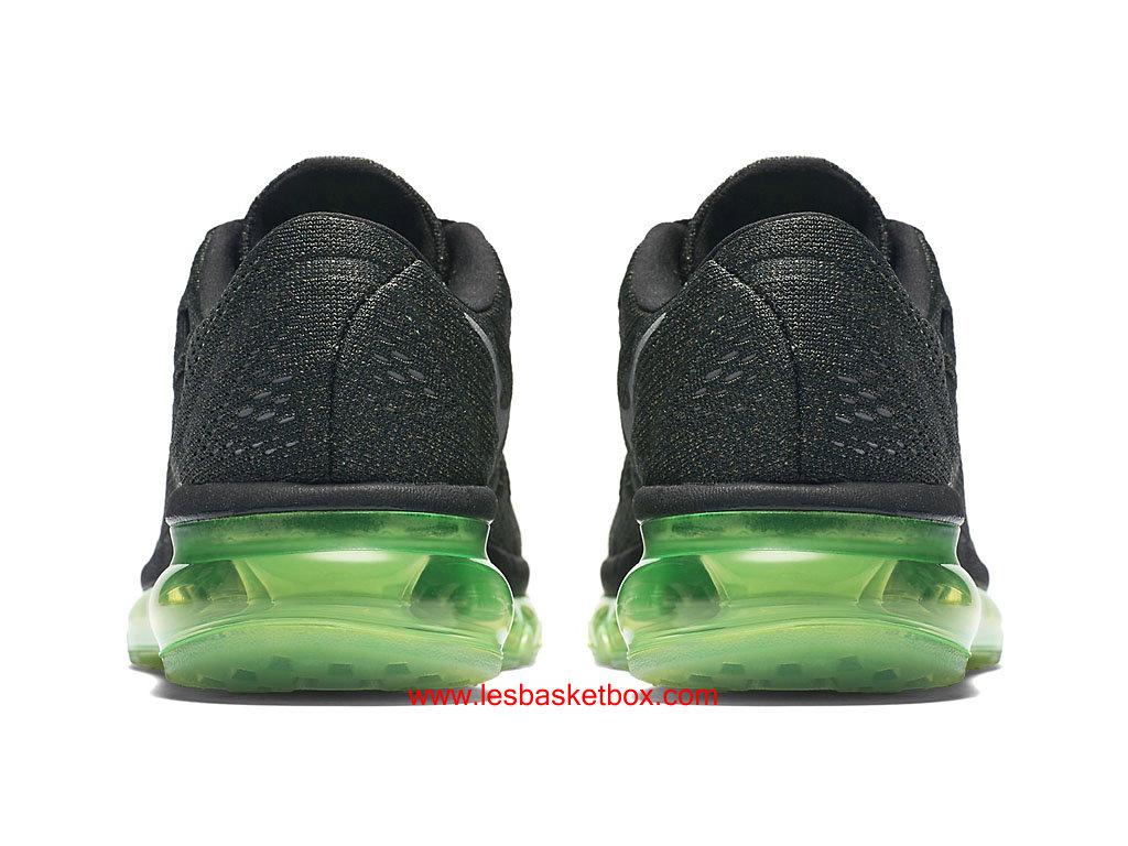 new styles 134b3 2dfb9 ... Nike Air Max 2016 Noir Argent Vert Chaussures Pour Femme 807236-003