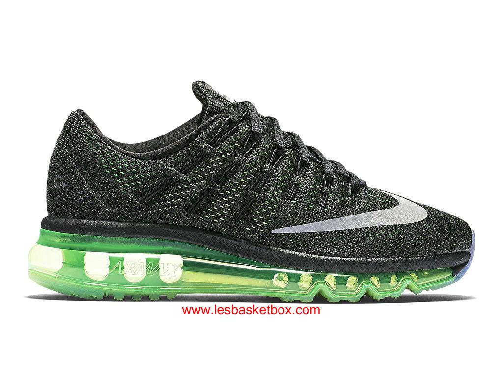 air max 2016 noir et vert