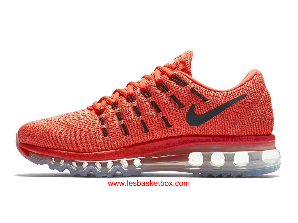 best service 28dc4 39dc3 ... Nike Air Max 2016 Black Red Colour Shoes For Womens 806772-600 ...