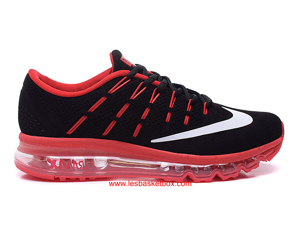 wholesale dealer e3f11 216bf Nike Air Max 2016 Noir Rose Blanche Hommes Chaussures 806771-A001 ...