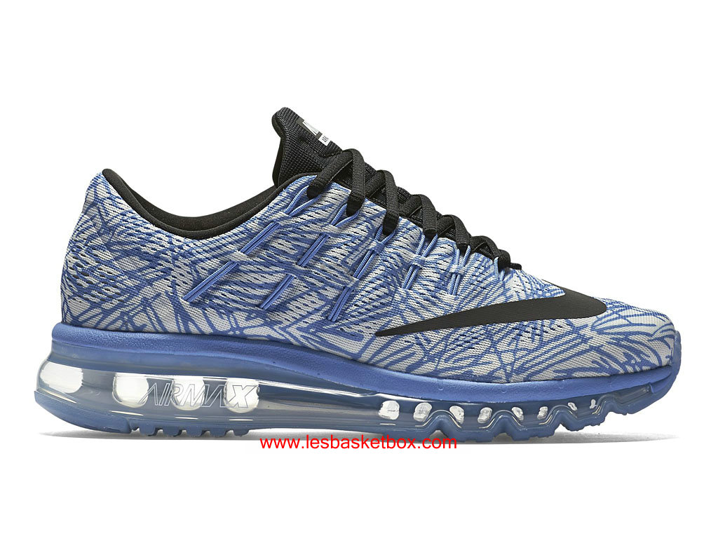 detailed look f7815 f4000 Nike Air Max 2016 Print Shoes Blue Grey For Womens 818101-400 ...