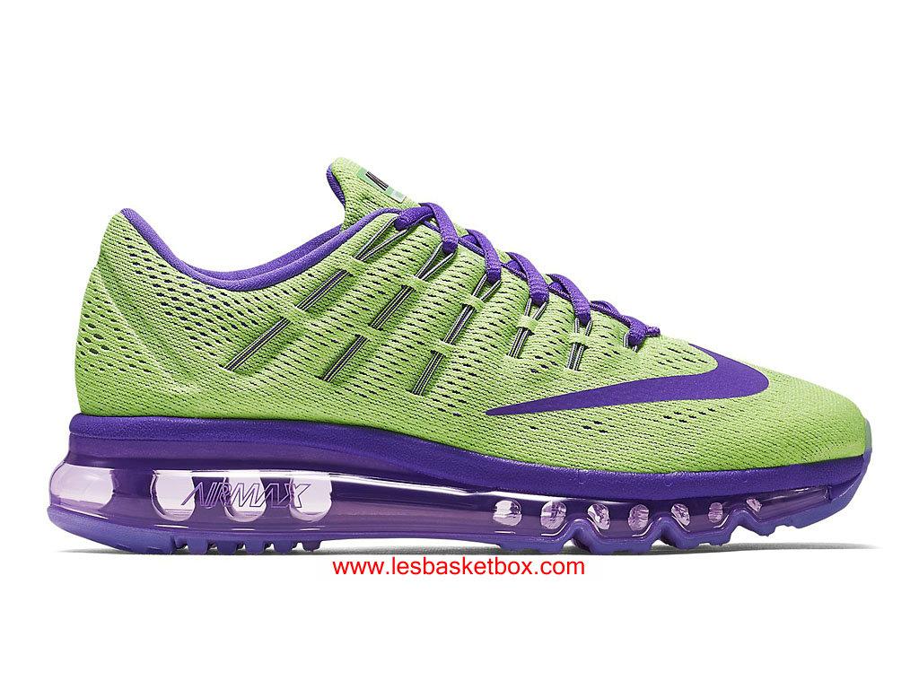 acheter pas cher d58bd 0ab8f Le Nouveau Modele Nike Air Max 2016 Violet Vert Chaussures Pour Femme  807237-305 - 1609110266 - Officiel Nike Basket Pour Homme Et Femme A Vendre  En ...