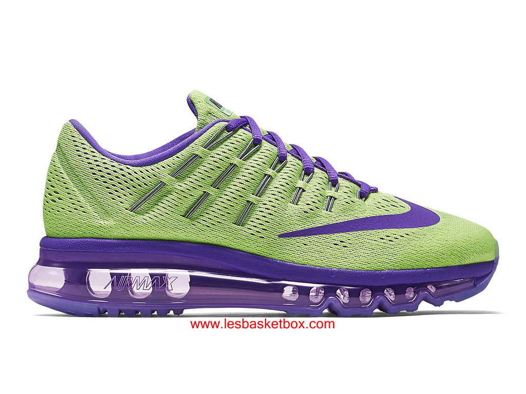 half off 7d6c2 f4991 Nike Air Max 2016 Violet Vert Chaussures Pour Femme 807237-305 ...