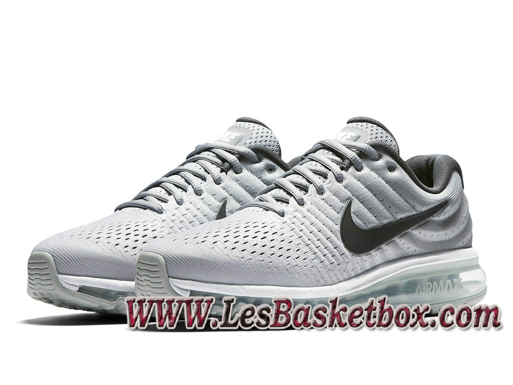 buy popular 00032 ca971 ... low price nike air max 2017 blanc gris loup gris foncé 849559101  chausssures air max prix uk femme ...