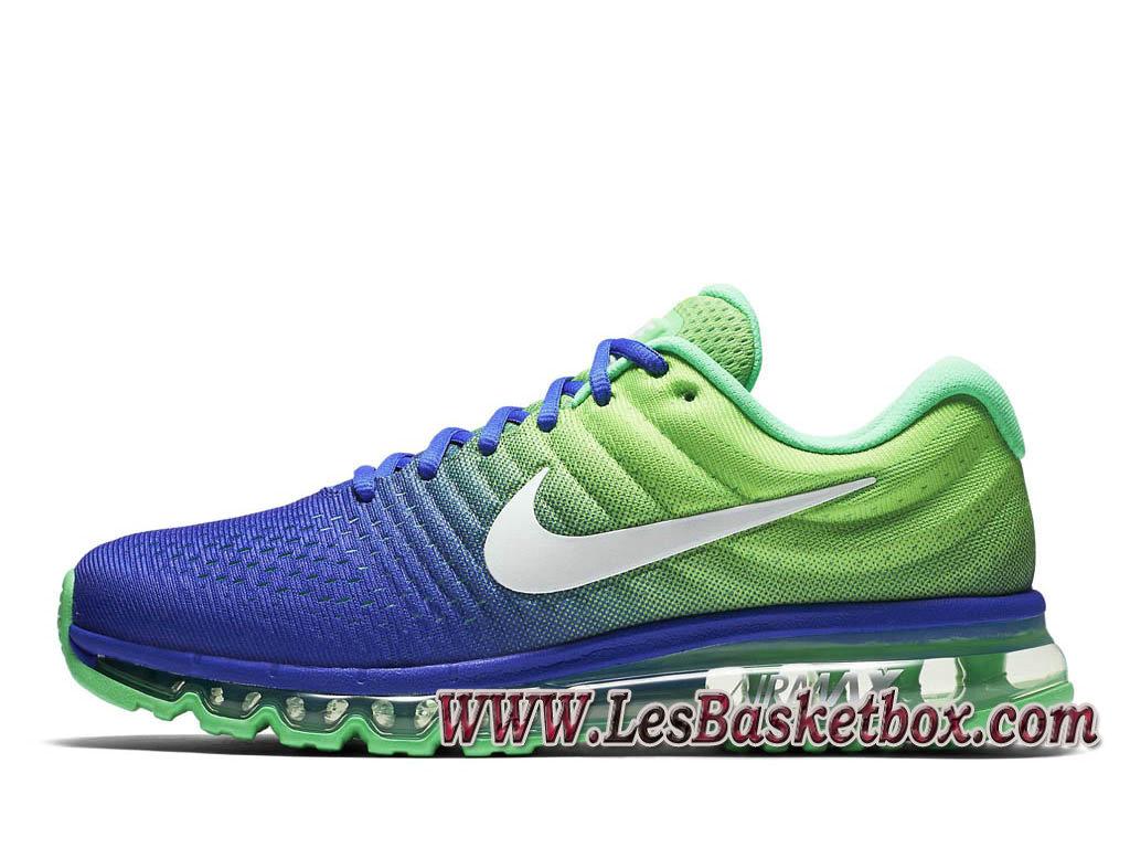 Nike air Max 2017 Bleu Vert 849559_403 Chaussures Air Prix Pour Homme Vert ...