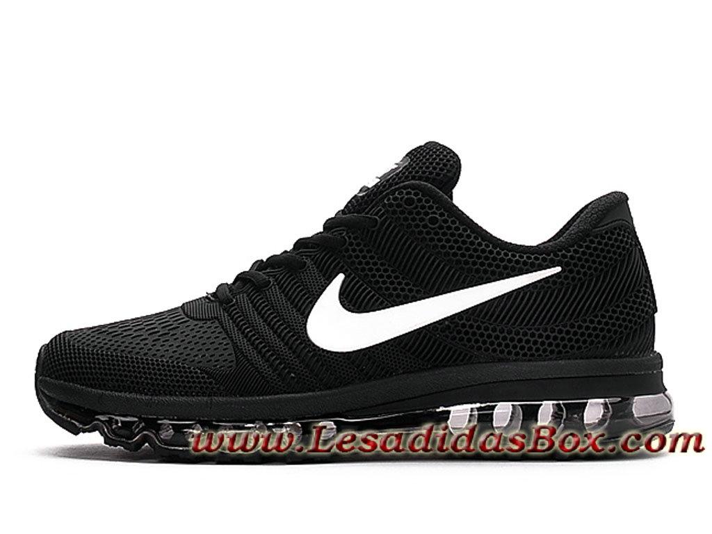 best sneakers ec01e e2978 Nike Air Max 2017 Kpu Chaussures Nike Pas cher Pour Homme Noir Blanc ...