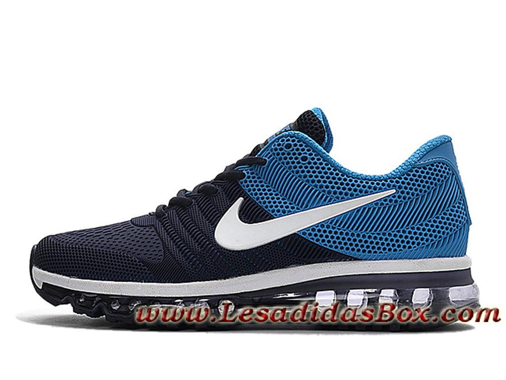 Nike Air Max 2017 Kpu Noir/Bleu Chaussures Nike Officiel Prix Pour Homme Bleu ...