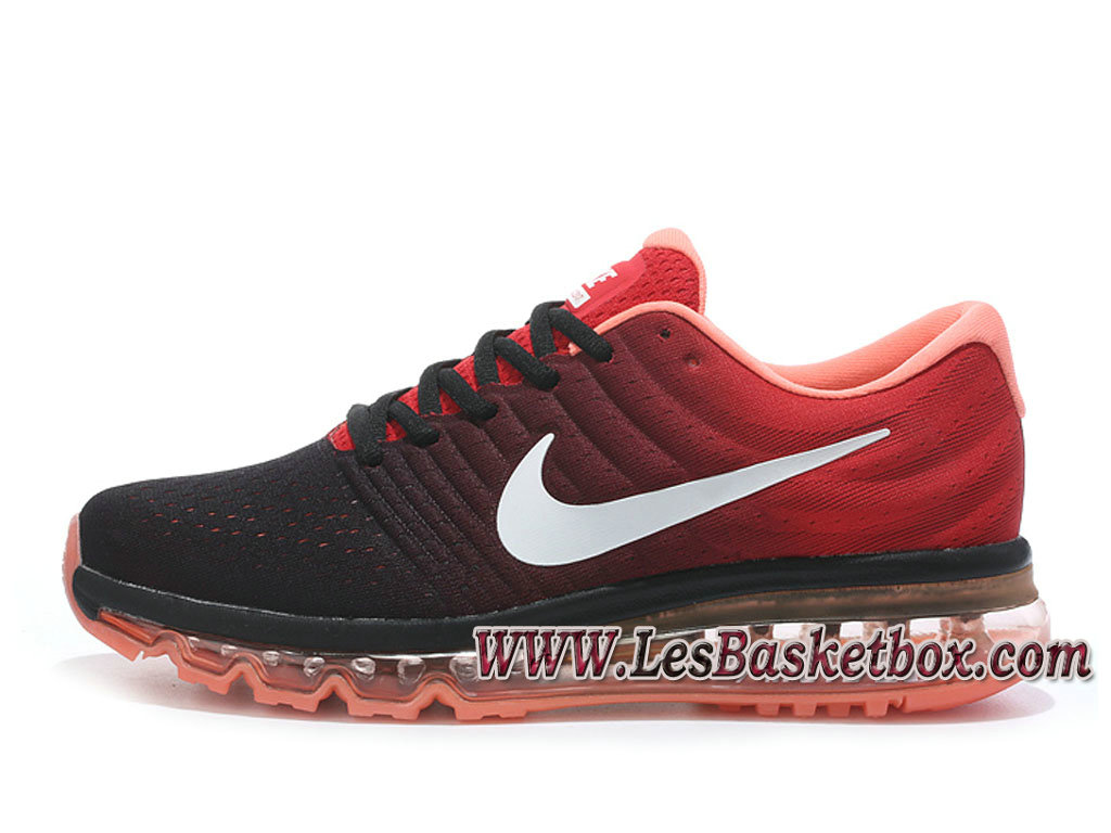 3c4802443719a Nike Air Max 2017 Noir/Rouge 849559_ID2 Chaussures Nike Sportwear Pas Cher  Pour Homme ...