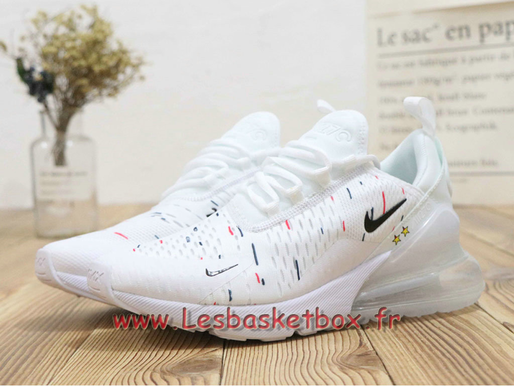 Max Wmns Blanc Nike 270 Etoiles World Air 2018 Cap 2 France