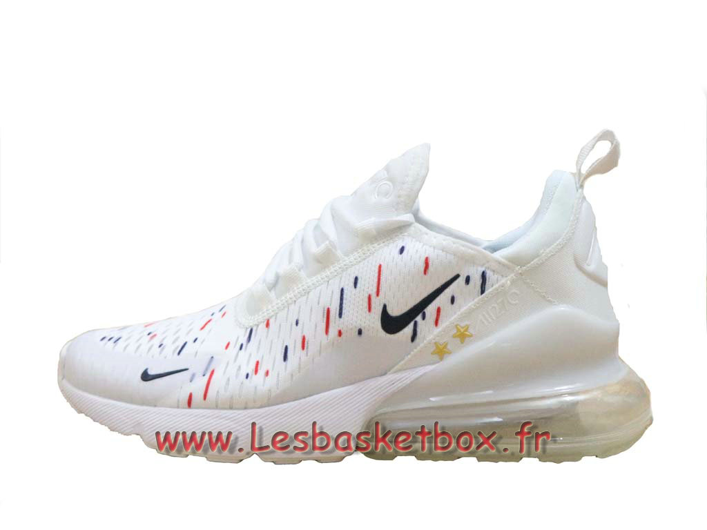 Nike Air Max 270 France 2018 World Cap 2 Etoiles Blanc