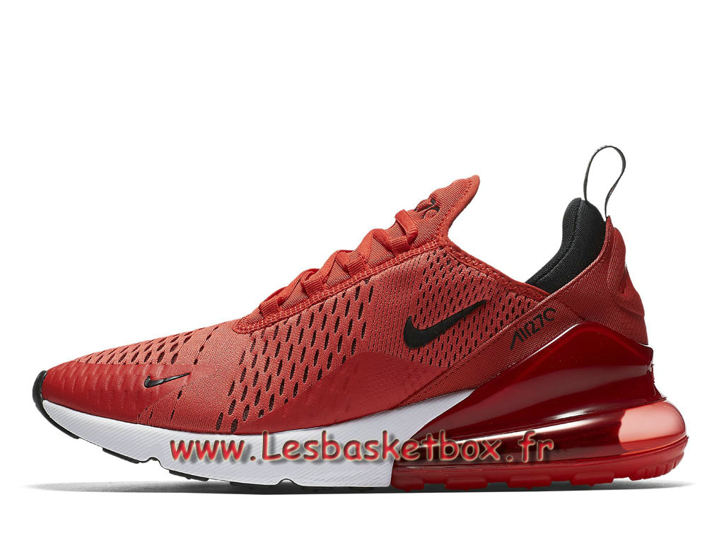 Nike Air Max 270 Habanero Red AH8050_601 Chaussures 2018 Prix Pour Homme