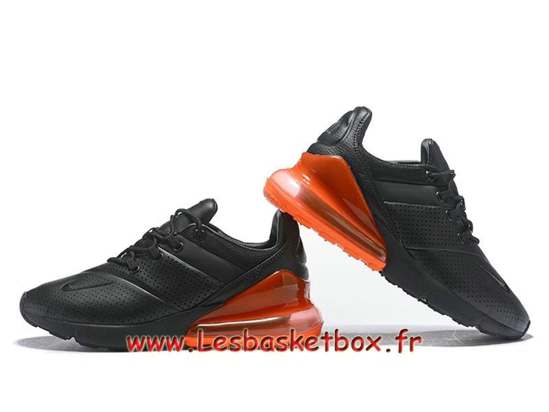 pas mal 10221 96a2d Nike Air Max 270 Premium Black Orange AO8283_ID1 Chaussures Basket Nike  Pour Homme - 1811201763 - Officiel Nike Basket Pour Homme Et Femme A Vendre  En ...