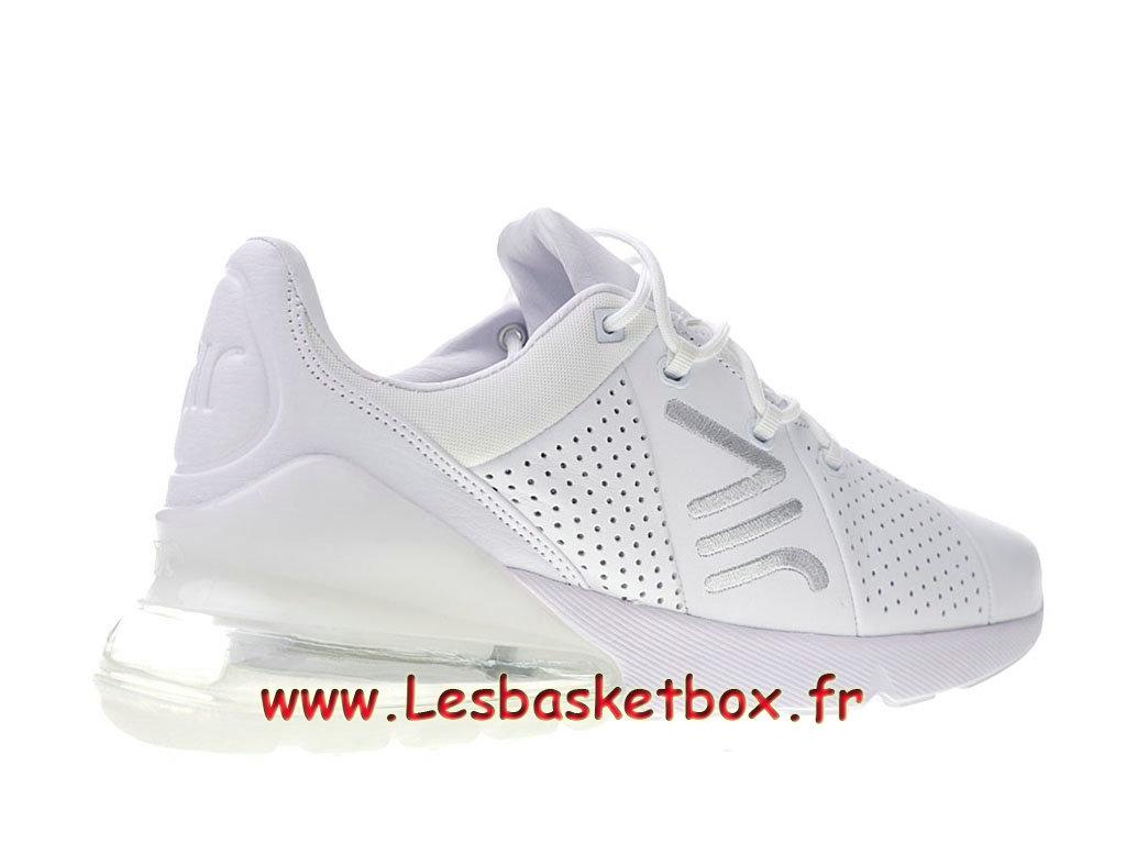 0951825a22b ... Nike Air Max 270 Premium White AO8283 100 Chaussures Basket Prix Pour  Homme ...
