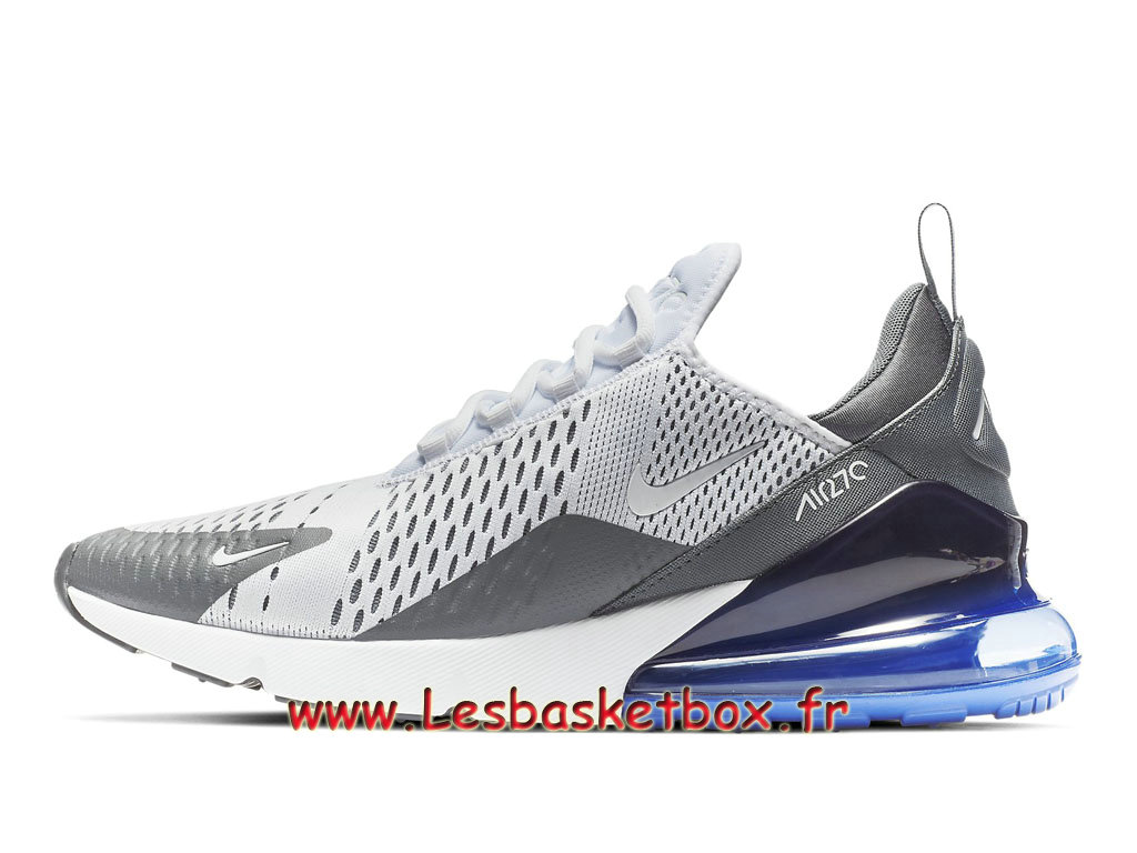 Nike Air Max 270 White Violet AH8050_107 Chaussures Nike Pas cher pour Homme