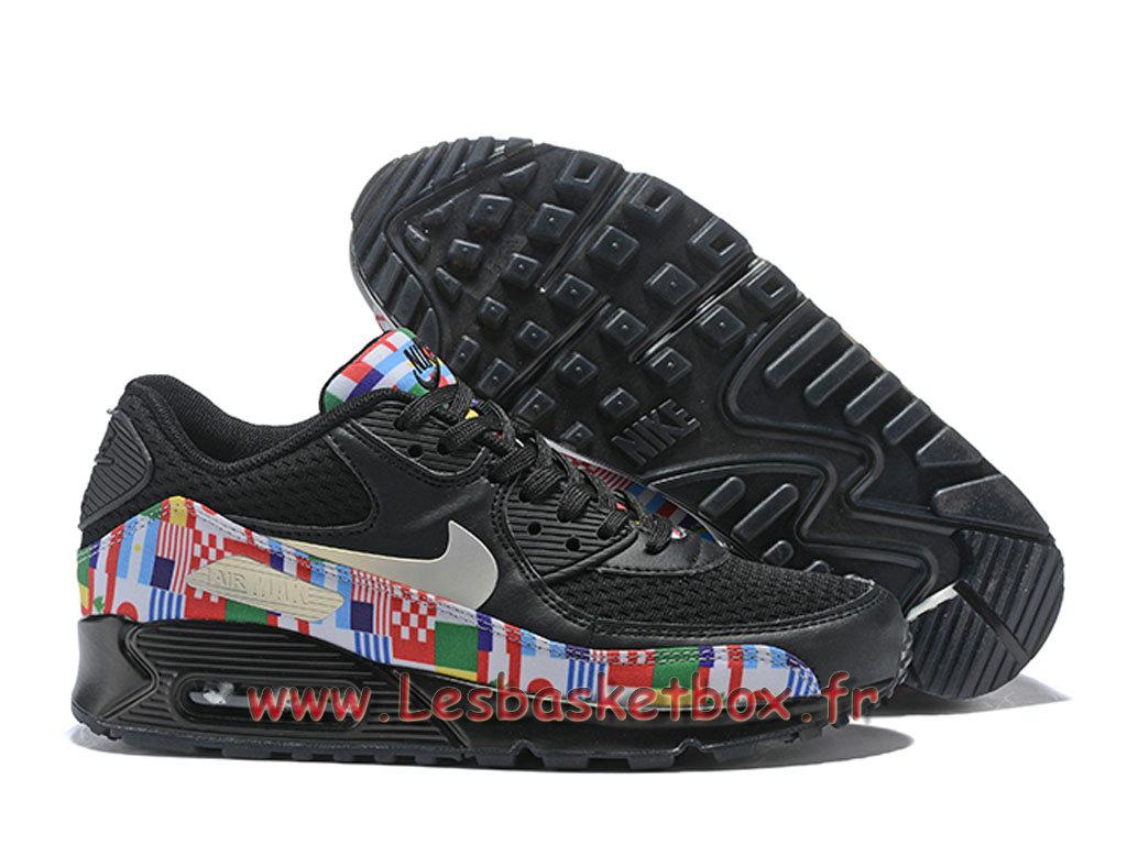 la moitié 80c66 29bbd Nike Air Max 90 NIC QS Noires Multi AO5119_101 Chaussures Official Prix  Pour Homme noires - 1808221642 - Officiel Nike Basket Pour Homme Et Femme A  ...
