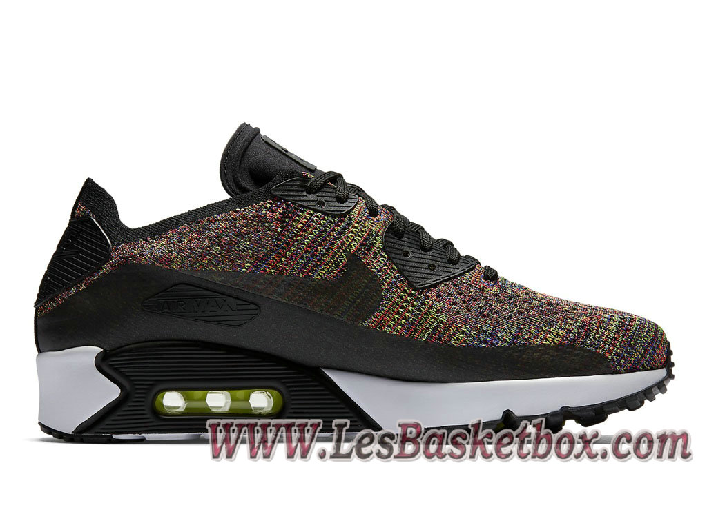 san francisco 6d7f0 cca20 ... Nike Air Max 90 Ultra 2.0 Flyknit Multicolor 875943-002 Chaussures NIke  Pas cher Pour ...