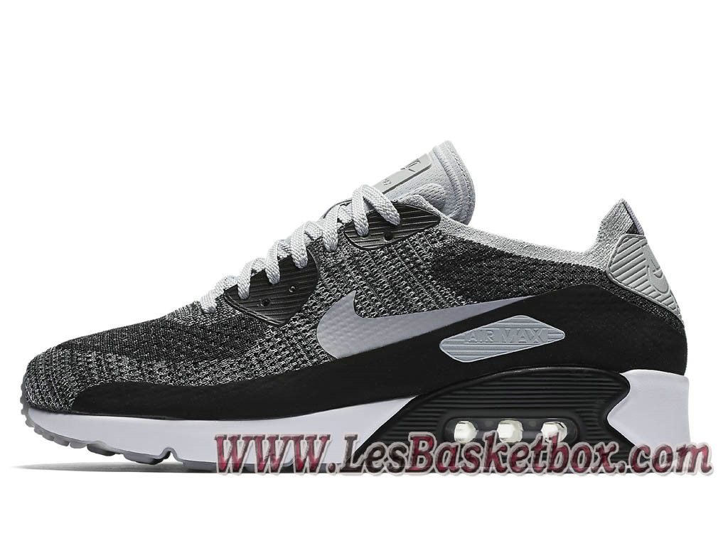 Nike Air Max Max Max 90 Ultra Flyknit Wolf Gris 875943 005 Chaussures 43bc4f