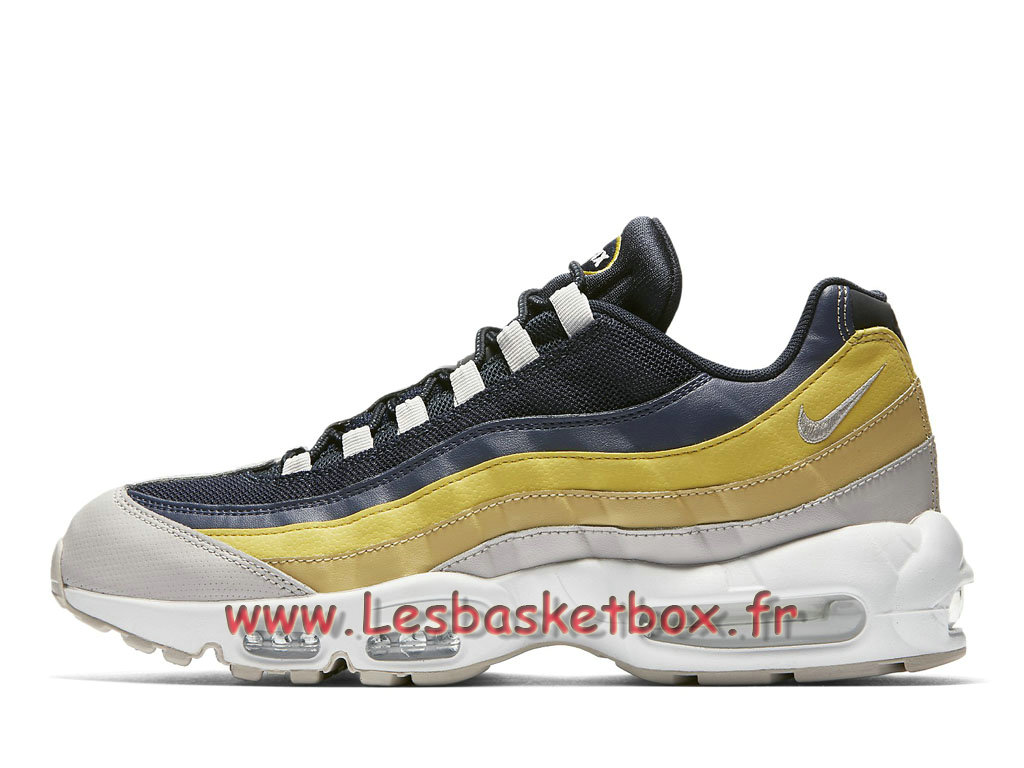 brand new a5e64 4425b Nike Air Max 95 Essential Lemon Wash 749766 107 Chaussures NIke 2018 Pour  Homme ...