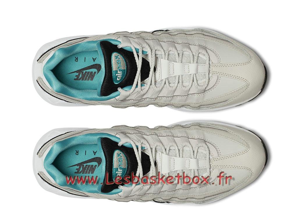 huge discount a318f e1dfd ... Nike Air Max 95 Essential Light Bone 749766 027 Chaussures Basket  Officiel Pour Homme ...
