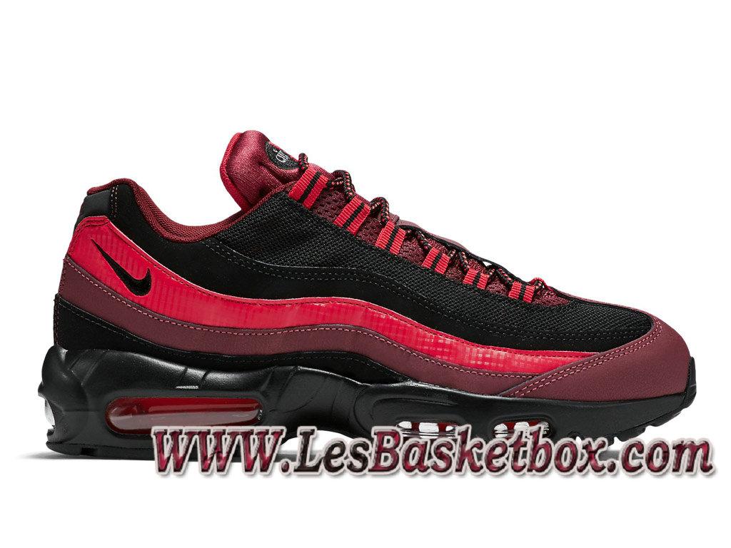 Nike Air Max 95 Essential Team Red 749766_600 Chaussures Officiel NIke prix Pour Homme BlackRed 749766_600 Officiel Nike Basket Pour Homme Et