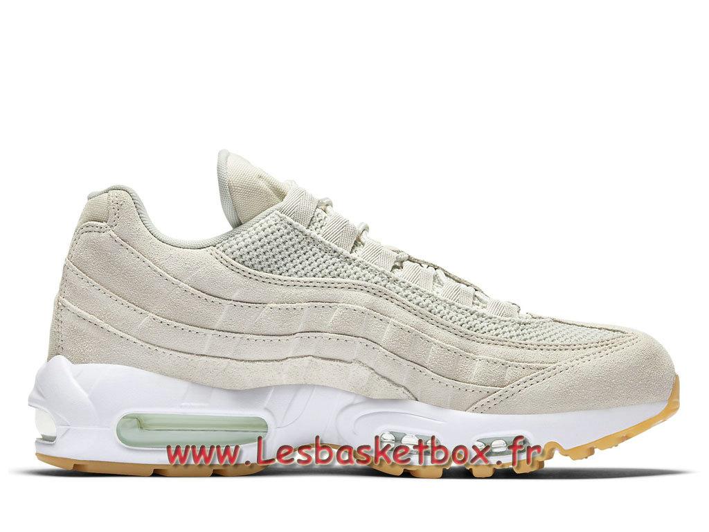 44bacf4df3 Nike Air Max 95 Premium Blanc 538416_003 Chausport nike basket Pour Homme .