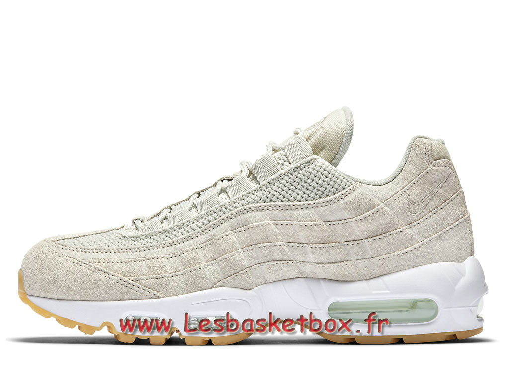 detailed look e94be e7c63 Nike Air Max 95 Premium Blanc 538416 003 Chausport nike basket Pour Homme .