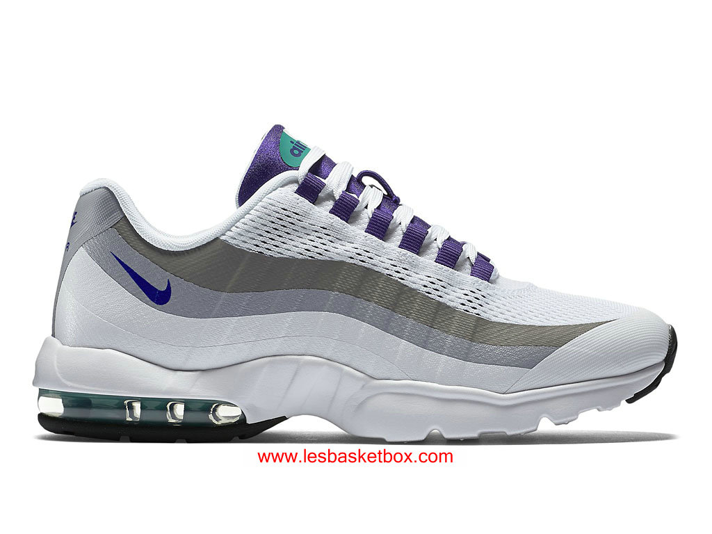 new arrival f143d 2b239 Nike Air Max 95 Ultra White Court Purple WMS Shoes 749212-101