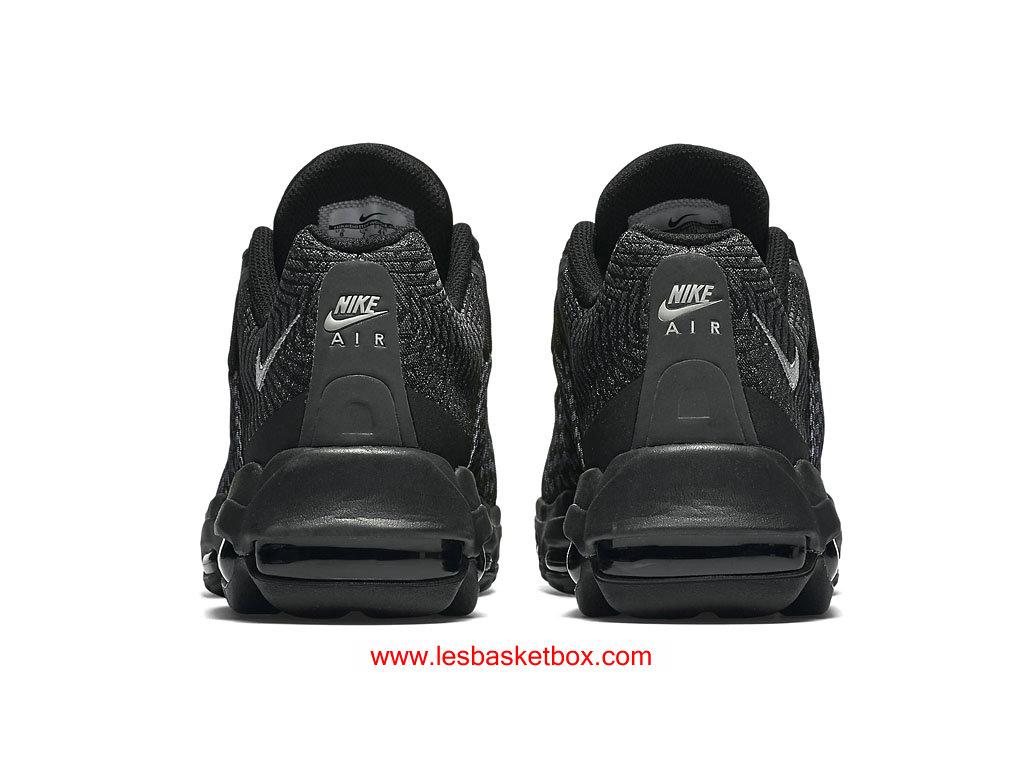 c2c53040ac20 ... Nike Air Max 95 Ultra Jacquard Noir Coleur Pour Femme Pas Chere 749771- 001