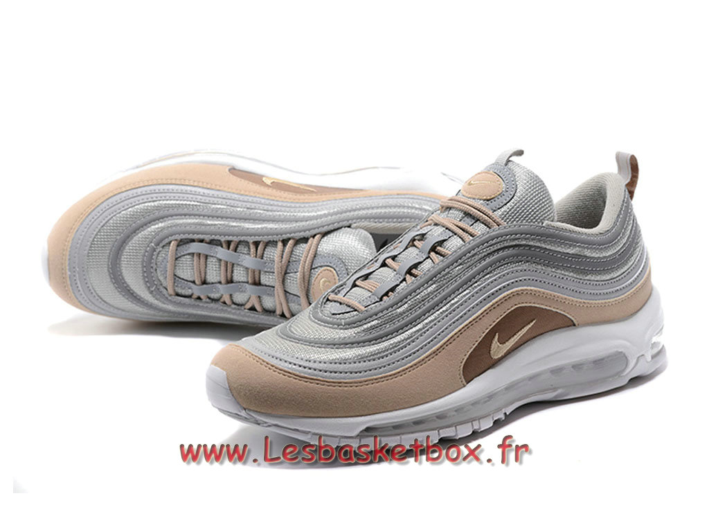 nike air max 97 hommes argent