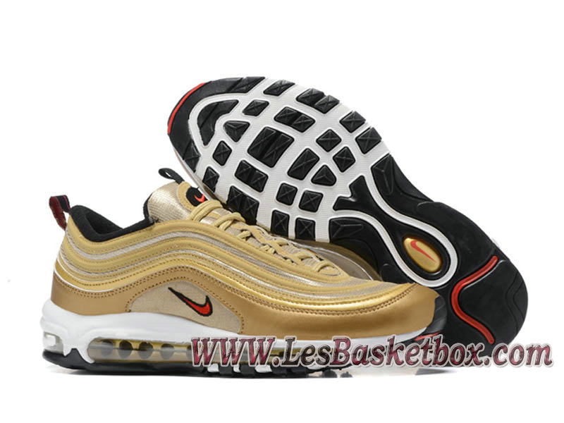 nike air max 97 gold homme