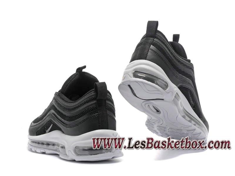 wholesale dealer d79d4 b06cd ... Nike Air Max 97 OG QS noire Blanc 884421ID5 Chaussures Nike pas cher  Pour Homme Noies
