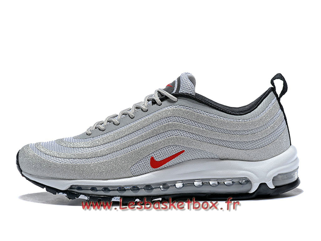 cheaper d177e eee59 Nike Air Max 97 OG QS Silver Bullet 884421 ID3 Chaussures Officiel Running  Pour Homme .