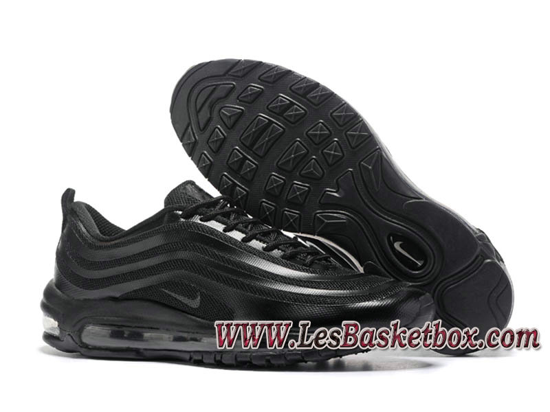 newest collection 710fc c8e08 ... Nike Air Max 97 OG QS Triple Black 884421 ID3 Chaussures officiel Nke  Prix Pour homme noires ...