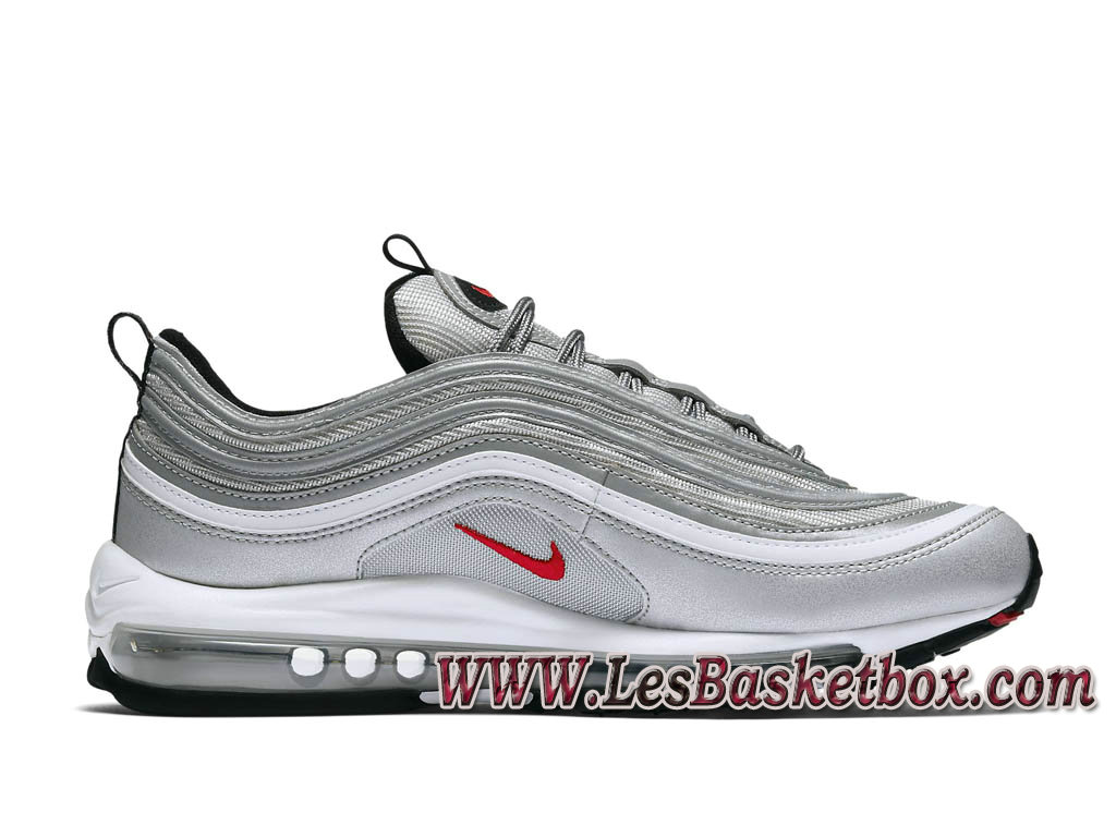 official photos f5783 2c81c Running Nike Air VaporMax 97 Silver Bullet AJ7291 002 Chaussures Nike  Basket Pour Homme silver
