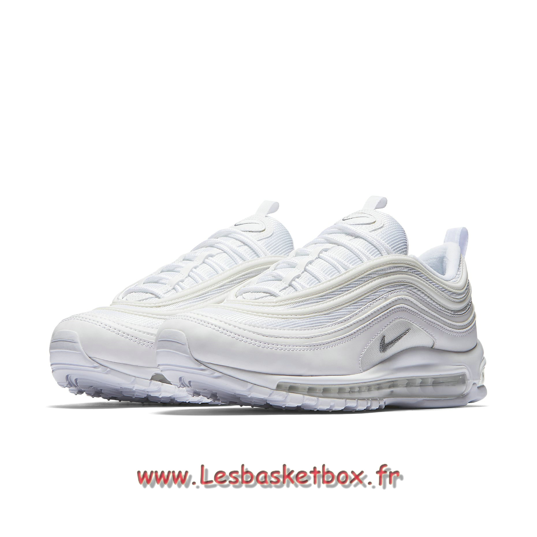 sale retailer 324bd d9f06 ... Nike Air Max 97 Triple White 921826 101 Chaussures nike basket homme ...