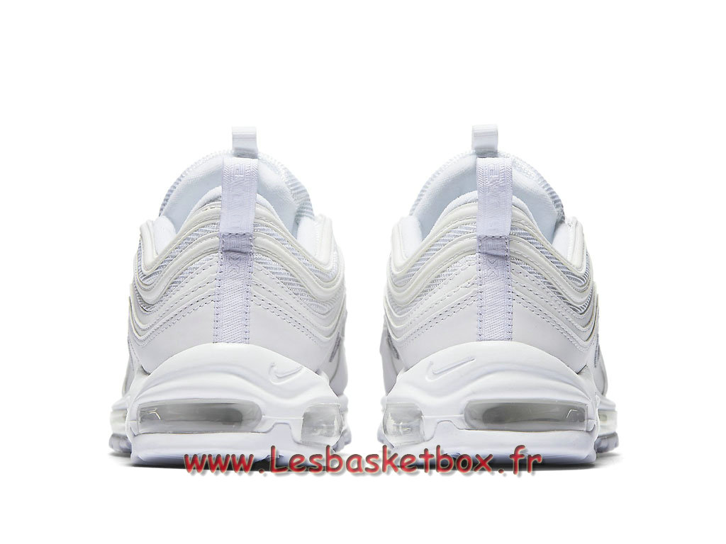 reputable site a557b e3e96 ... Nike Air Max 97 Triple White 921826 101 Chaussures nike basket homme